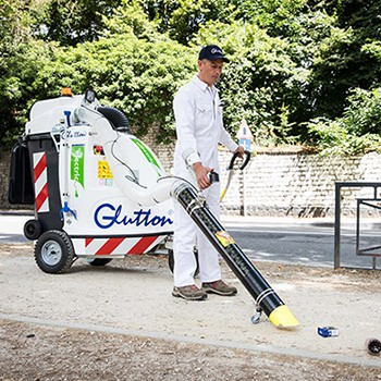 Glutton® - Electric urban and industrial waste vacuum cleaners