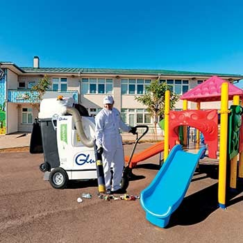 Glutton® delivers the benefits of cleanliness in schools.