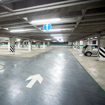 Glutton® delivers the benefits of cleanliness in car parks !